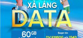 Đăng ký gói cước KM60G Vinaphone chỉ 50K/tháng nhận ngay 60GB data