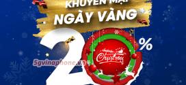 Vinaphone khuyến mãi ngày 18/12/2020 tặng 20% giá trị tiền nạp toàn quốc