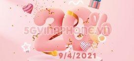 Khuyến mãi Vinaphone ngày 9/4/2021 ưu đãi NGÀY VÀNG toàn quốc