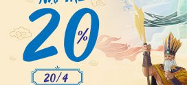 Vinaphone khuyến mãi ngày 20/4/2021 tặng 20% giá trị tiền nạp bất kỳ