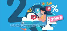 Khuyến mãi Vinaphone 29/6/2021 ưu đãi 20% tiền nạp cho TB may mắn