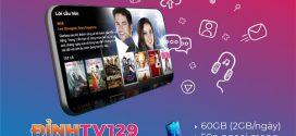 Đăng ký gói D129V Vinaphone tặng 60GB, Gọi Free, Xem MY TV thả ga