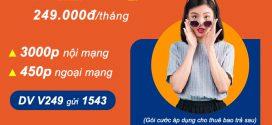 Cách đăng ký gói cước V249 Vinaphone MIỄN PHÍ gọi thoại cả tháng