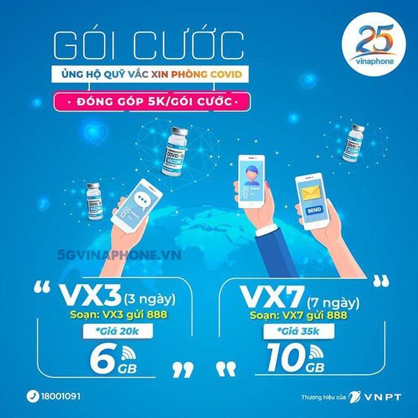 Cách đăng ký gói cước DATA Vacxin Vinaphone