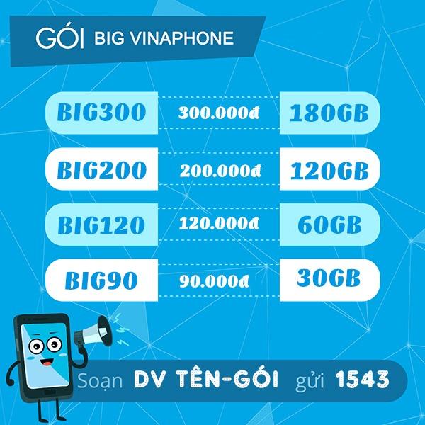 Gói cước BIG90 Vinaphone