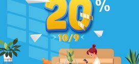 Khuyến mãi Vinaphone 10/9/2021 NGÀY VÀNG ưu đãi 20% tiền nạp