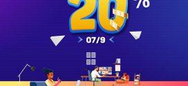 Vinaphone khuyến mãi 7/9/2021 tặng 20% tiền nạp cho thuê bao may mắn